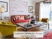 Granit Customer Satisfaction Survey Highlights 2020