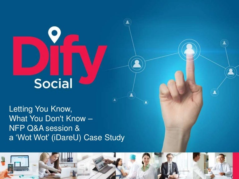 Social Media Marketing; 'Letting you know, what you don't know'