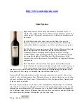 Buy Online 2006 Merlot Wine only $16.00