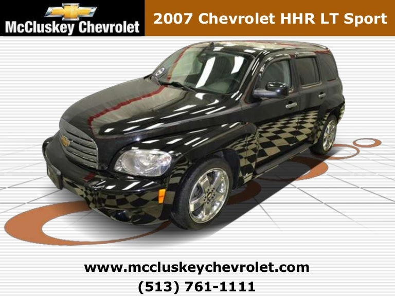Used 2007 Chevrolet Hhr Lt Sport Cincinnati Chevy Dealer Serving Da