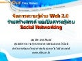 Web 2.0 for Social Networking