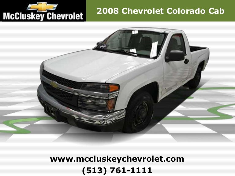 used 2008 chevrolet colorado cab used cars for sale in cincinnati. Black Bedroom Furniture Sets. Home Design Ideas