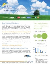 Summer '09 Introduces Social Media and XBRL to Investor Relations Websites - Q4 Web Systems