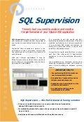 2009-07 - SQL Supervision - Data Sheet