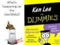 What's happening on the interwebs: Ken Lee edition