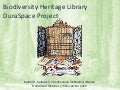 Biodiversity Heritage Library DuraSpace Project