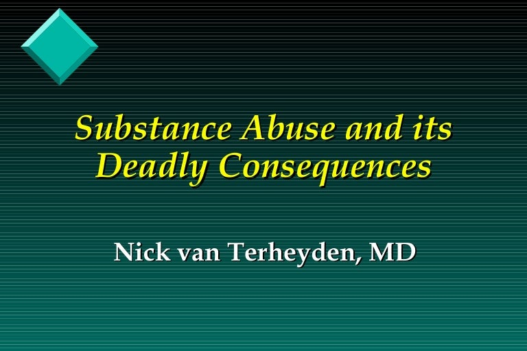 consequences of substance abuse at a young Of the more than 500 chemicals in marijuana, delta-9-tetrahydrocannabinol, known as thc, is responsible for many of the drug's psychotropic (mind-altering) effects it's this chemical that distorts how the mind perceives the world.