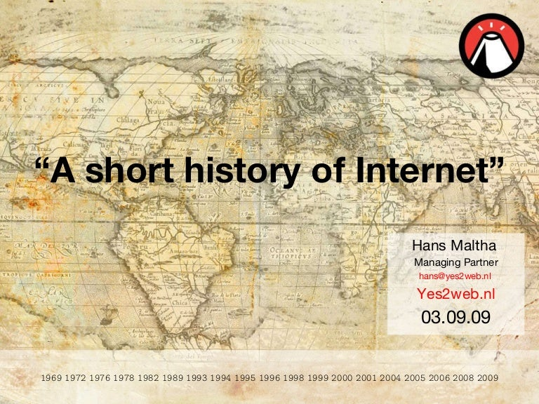 a short history of internet