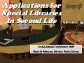 2009 App Special Librariesin S L