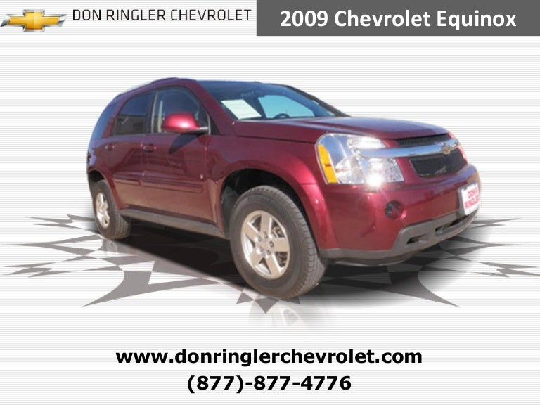 Chevy Dealership Killeen >> Used 2009 Chevrolet Equinox Lt Don Ringler Killeen