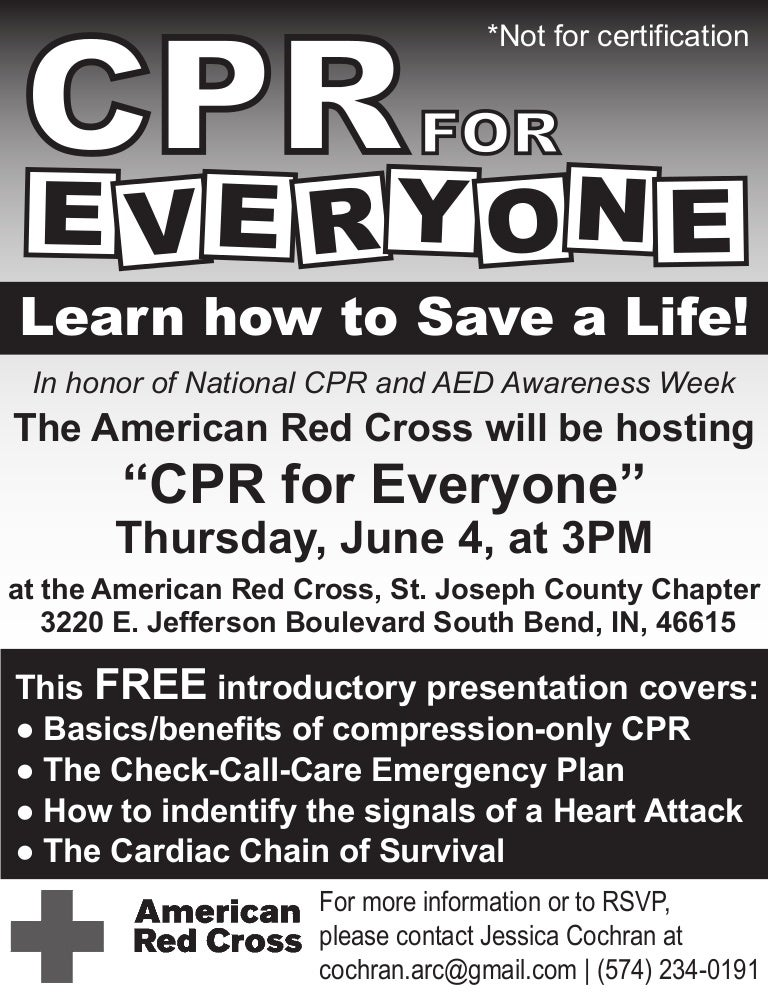 2009 Cpr For Everyone Flyer 2