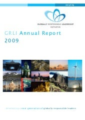 2009 GRLI Annual Report