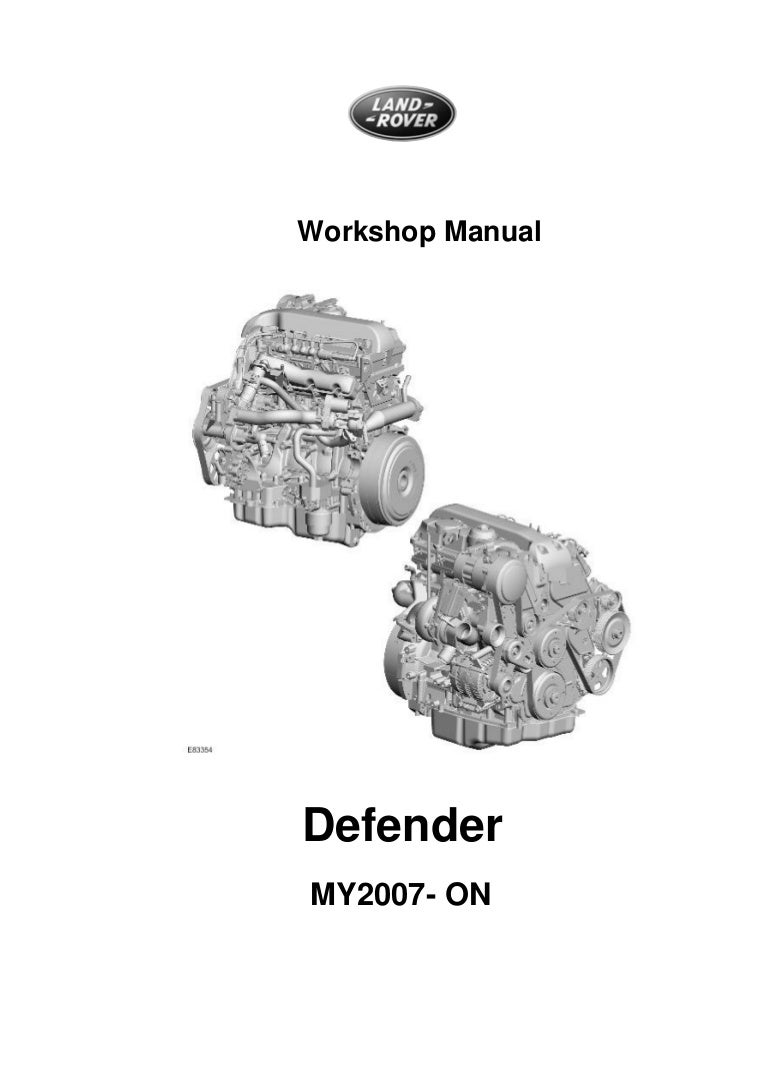 Workshop Manual CD Land Rover Discovery TD5 EGR Removal Blanking Kit
