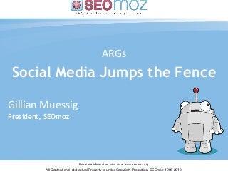 Tweet, Meet and Gasp! Online/Offline Marketing Plays That Your Breath Away - Gillian Muessig
