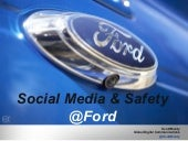 Ford Social Media and Safety - GHSA Presentation