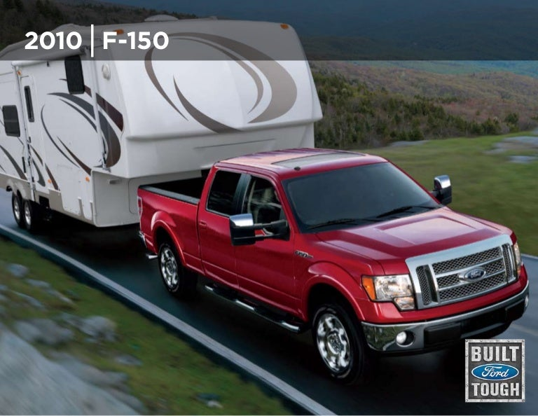 2010 Ford F 150 Truck Brochure