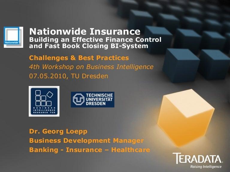 Nationwide Insurance - Building an Effective Finance Control