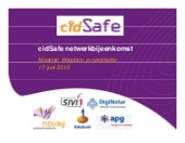 cidSafe project overview (in Dutch!!!)