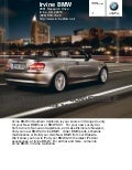 2010 BMW 1 Series Convertible Los Angeles