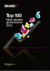 2010 Top100 Brands Milward Brown