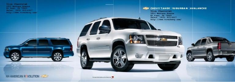 2010 Chevy Avalanche in El Paso, TX