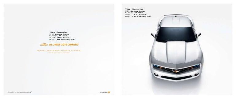 2010 chevy camaro in el paso tx. Black Bedroom Furniture Sets. Home Design Ideas