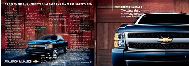2010 chevy silverado hd in el paso tx. Black Bedroom Furniture Sets. Home Design Ideas