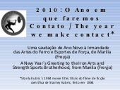 2010 New Years Greeting from Marilia