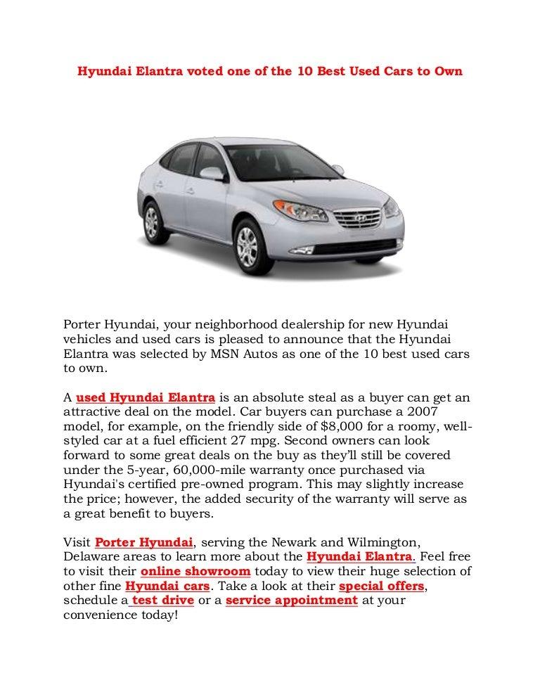 2010 Hyundai Elantra Delaware