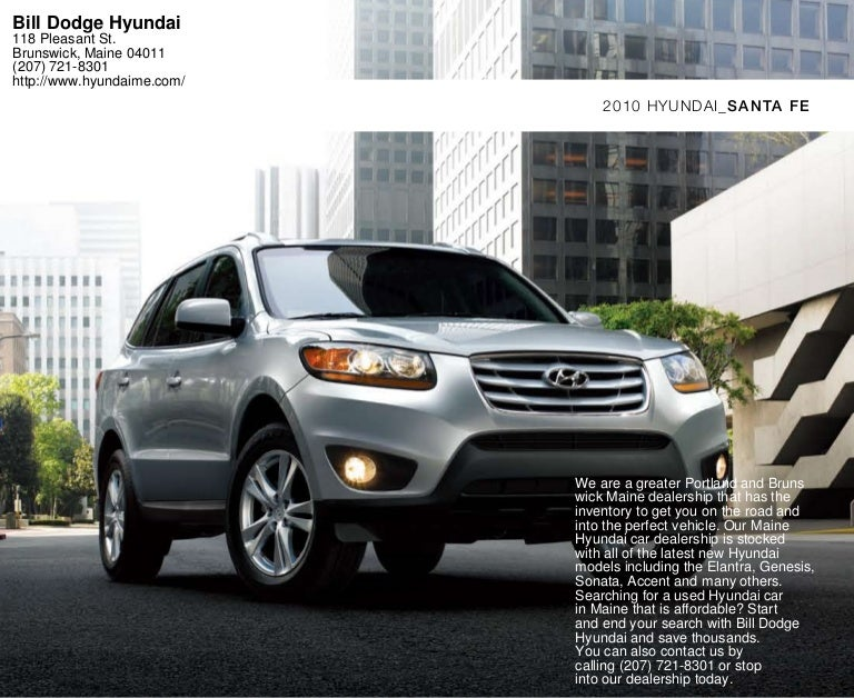 2010 Hyundai Santa Fe Portland