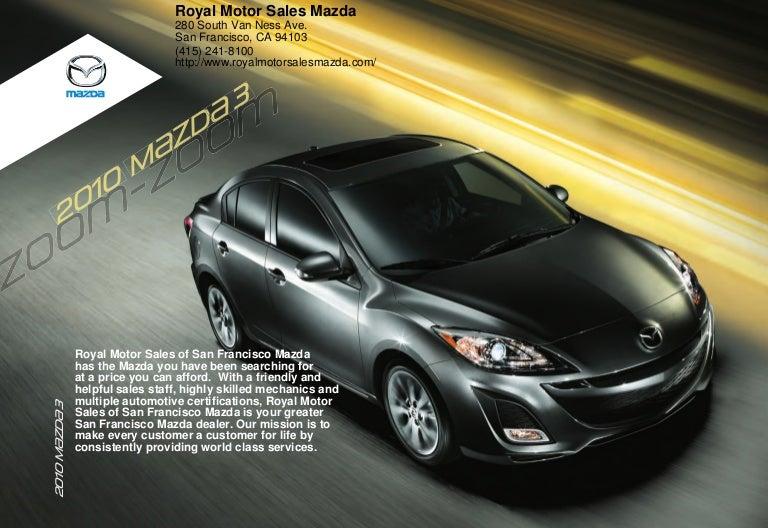 Mazda San Francisco - Mazda service san francisco