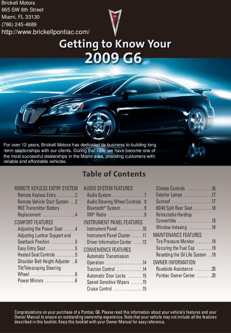 2007 pontiac g6 owners manual pdf.