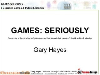 RU Game? Games & Public Libraries