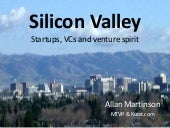 Silicon Valley, Startups and Entreprenurs