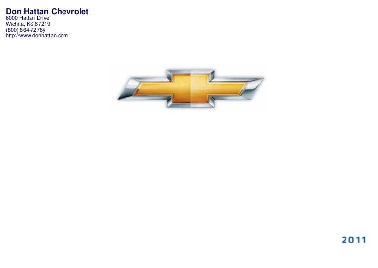 Don Hattan Chevrolet >> 2011 Chevrolet Volt Wichita Ks Don Hattan Chevrolet