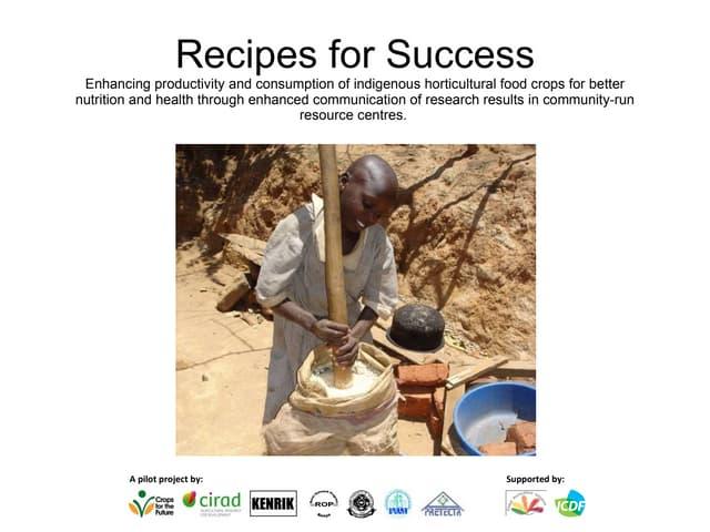 2011 globalhort-recipes-for-success-montpellier