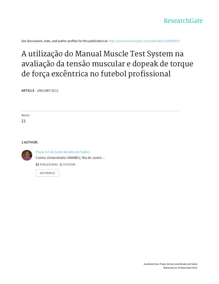 2011 revista brasileira de futebol a utilização do manual