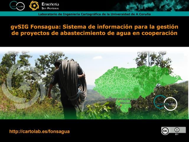 gvSIG Fonsagua en el curso de TCPDH de ISF en Lugo