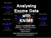 Analyzing Exome Data with KNIME