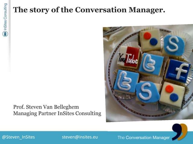 Presentatie Steven van Belleghem @ B2B Goes Social - Presentation