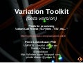 Variation Toolkit