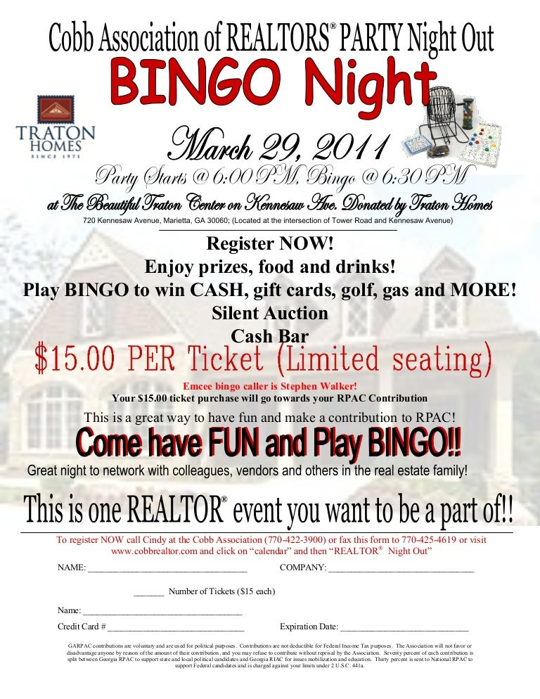 2011 bingo night flyer pdf1 saigontimesfo