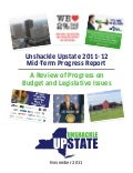 Unshackle Upstate 2011-12  Mid-Term Progress Report