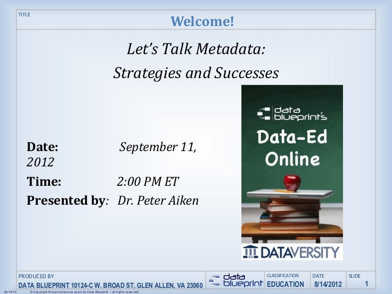 Data ed online lets talk metadata strategies and successes malvernweather Image collections