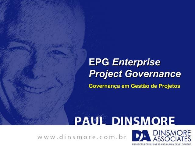 Apresentação Paul Dinsmore no evento do PMIRIO