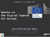 Update on the Digital Agenda for Europe
