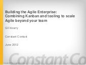 Building The Agile Enterprise - LSSC '12