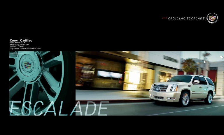 2012 Cadillac Escalade For Sale NJ | Cadillac Dealer New ...