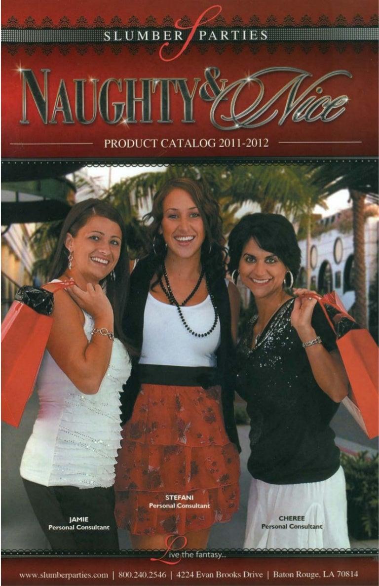 2011 2012 Slumber Parties Catalog