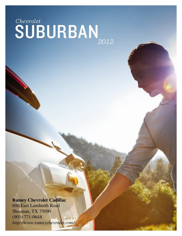 Ramey Chevrolet Sherman Tx >> 2012 Chevy Suburban For Sale In Sherman Tx Sherman